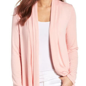 High/Low Jersey Cardigan